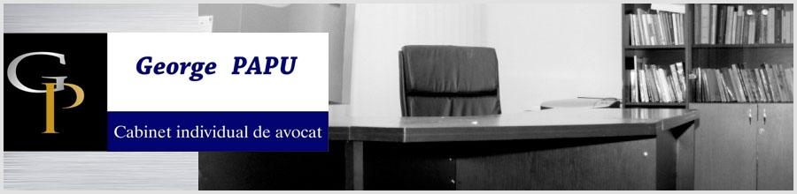 Cabinet de Avocat George Papu - Bucuresti Logo