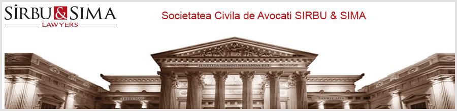 Societatatea Civila de Avocati SIRBU & SIMA Bucuresti Logo