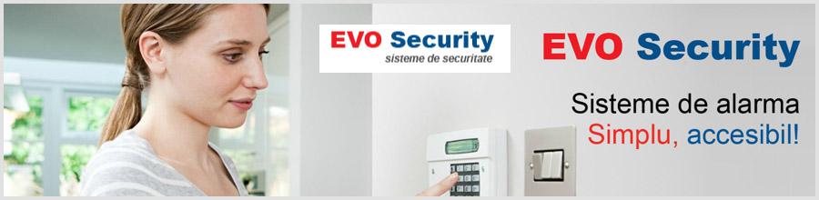 Evo Security sisteme securitate Bucuresti Logo