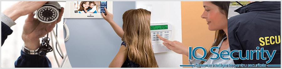 IQ SECURITY TEAM sisteme securitate Voluntari Logo