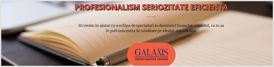 Cabinet Expertiza Contabila Galaxis94 Bucuresti Logo