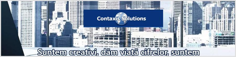 CONTAXIS SOLUTIONS contabilitate Cluj Logo