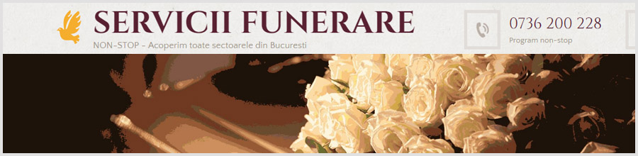 Funerarii Romania - servicii funerare Bucuresti Logo