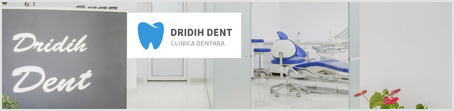 Dridih Dent-clinica dentara- Dridu Logo