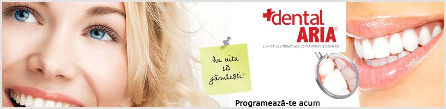 Clinica stomatologica DentalARIA Bucuresti Logo
