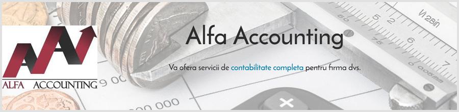 Alfa Accounting Expert Bucuresti - servicii de contabilitate completa Logo
