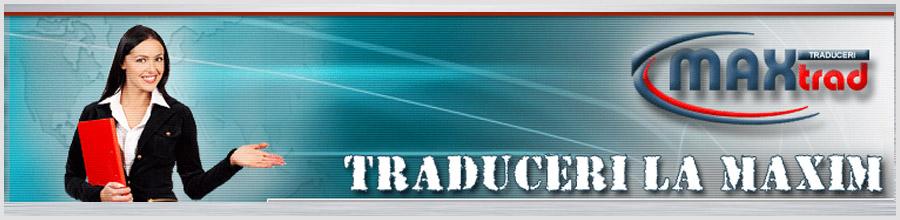 Birou traduceri MaxTrad Ploiesti Logo