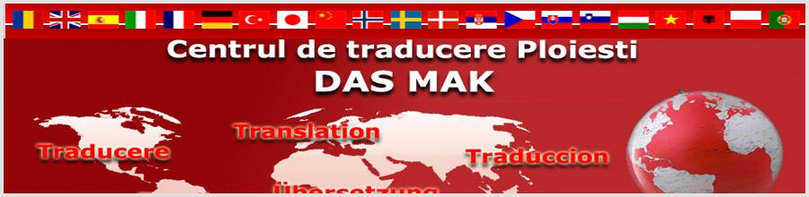Centrul de Traduceri Das Mak Ploiesti Logo