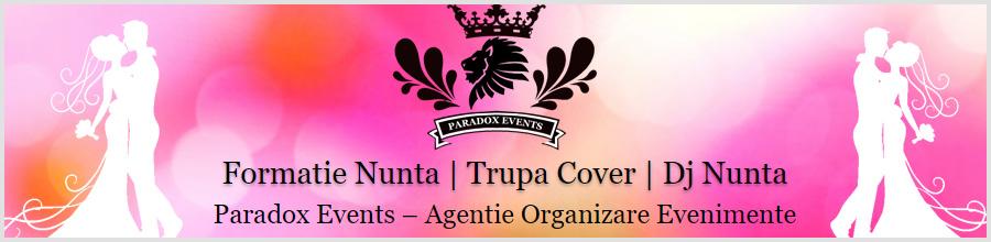 Paradox Events organizare evenimente Bucuresti Logo