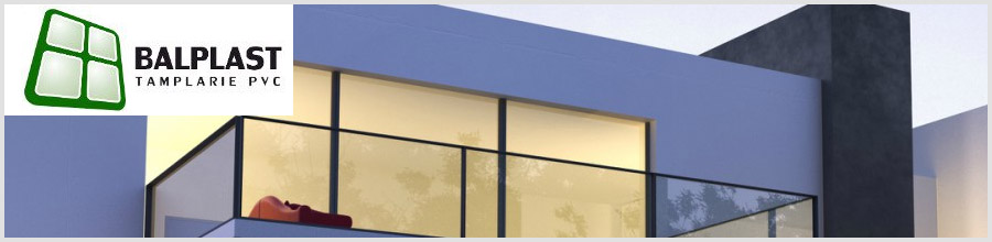 Balplast - Productie si montaj tamplarie PVC, Ploiesti Logo