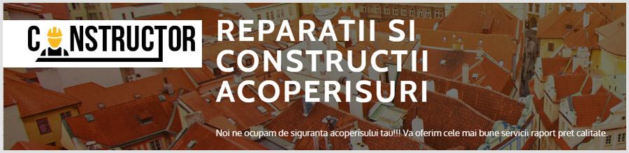 Constructor reparatii, montaj acoperisuri Bucuresti Logo