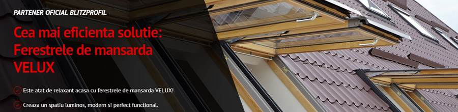 Blitz Profil, Pantelimon / Ilfov Sisteme de invelitori metalice Logo