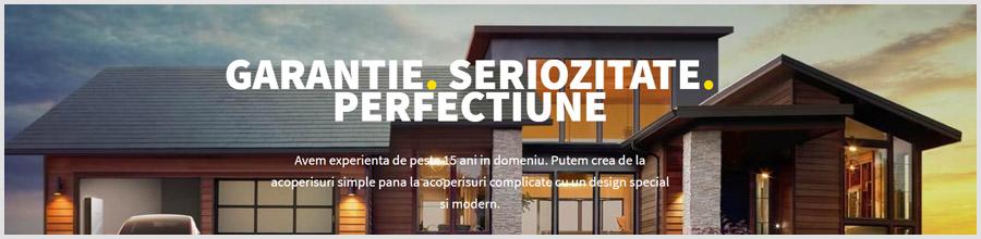 GERARD CONSTRUCT ROOF reparatii acoperisuri Bucuresti Logo