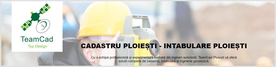 TeamCad cadastru, intabulare, inginerie geodezica Ploiesti Logo