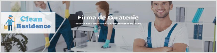 Clean Residence servicii curatenie Bucuresti Logo