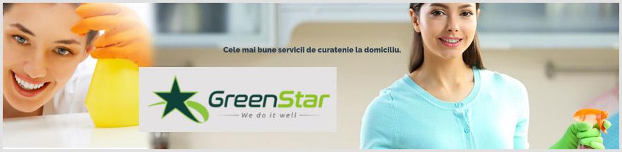 Greenstar Services curatenie Ploiesti Logo
