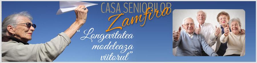 Casa Seniorilor Zamfira Prahova Logo