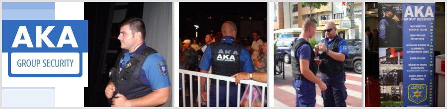 AKA GROUP SECURITY paza si protectie Otopeni Logo