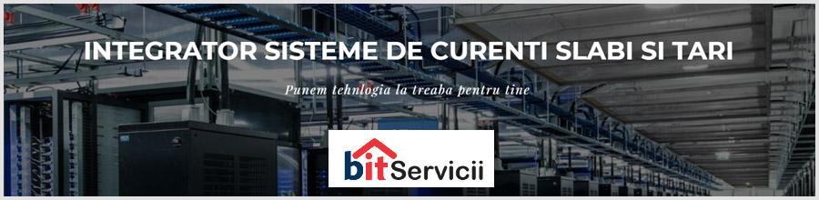 Bit Servicii, Integrator de sisteme de curenti tari si slabi - Pantelimon / Ilfov Logo