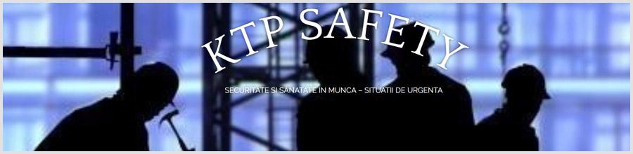 KTP Safety - servicii in domeniul Securitatii si Sanatatii in Munca Bucuresti Logo