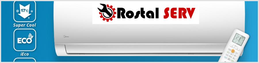 ROSTAL SERV instalare aer conditionat Bucuresti Logo