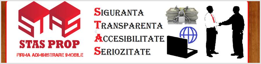Stas Prop administrare blocuri Bucuresti Logo