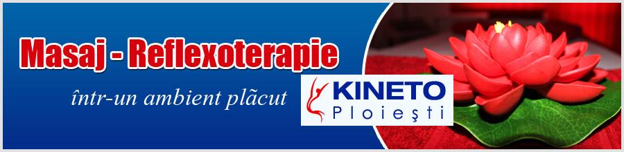 Kineto Ploiesti Clinica de Kinetoterapie si Reflexoterapie Logo