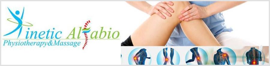Kinetic Alfabio kinetoterapie, fizioterapie Bucuresti Logo