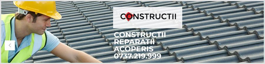 Constructii, reparatii acoperisuri, Bucuresti - Reparatii in toata tara Logo