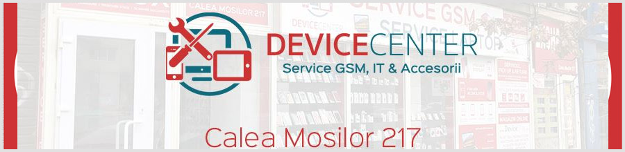 Device Center service GSM, PC, laptop, tablete Bucuresti Logo