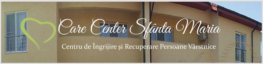 CARE CENTER SFANTA MARIA Centru de ingrijire si recuperare persoane varstnice Voluntari Logo