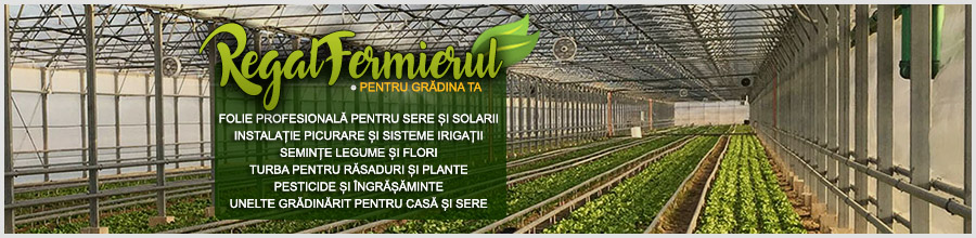 Regal Fermierul produse si accesorii pentru solarii, gradini si ferme Galati Logo