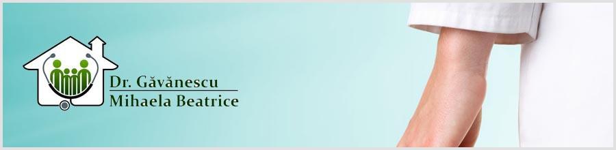 Cabinet Medicina de familie Dr. Gavanescu Mihaela Beatrice Logo