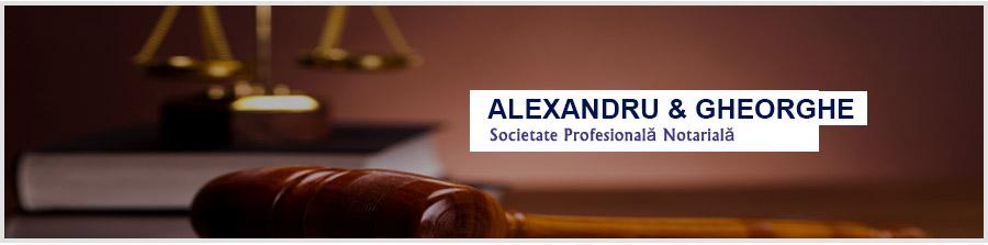 Alexandru & Voicu - Societate Profesionala Notariala Bucuresti Logo