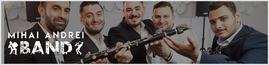 Formatie nunta Bucuresti Mihai Andrei Band Logo