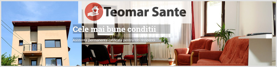 Camin de batrani Teomar Sante sector 1 Logo