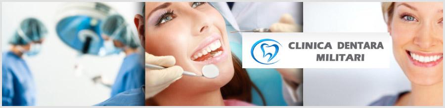 Clinica Dentara Militari Logo