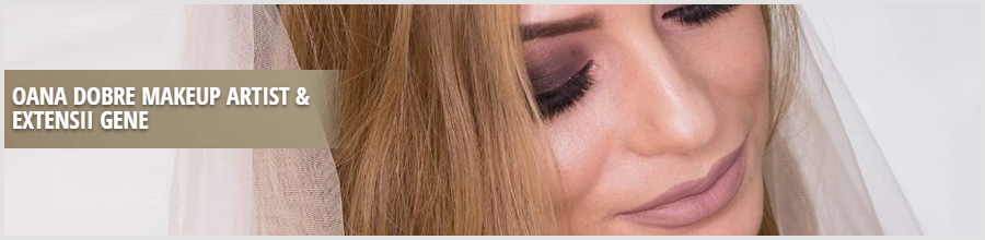 Oana Dobre Makeup Artist & Extensii gene Constanta Logo