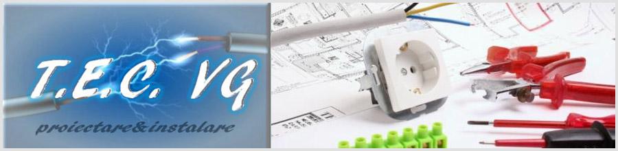TOTAL ELECTROCONSTRUCT VG proiectare si executie instalatii electrice exterioare/interioare Arges Logo