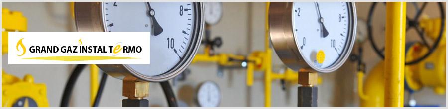 Grand Gaz Instal Termo - Executie instalatii gaze, instalatii termice si sanitare Bucuresti Logo