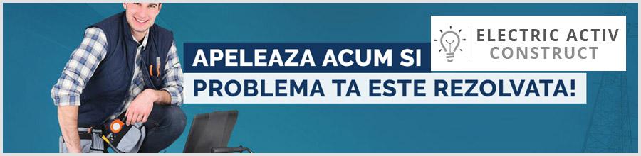 ELECTRIC ACTIV - ELECTRICIENI AUTORIZATI DISPONIBILI 24/24 Bucuresti Logo