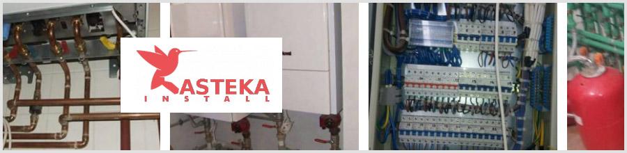 Kasteka Install Instalatii termice, sanitare, electrice, automatizari Bucuresti Logo