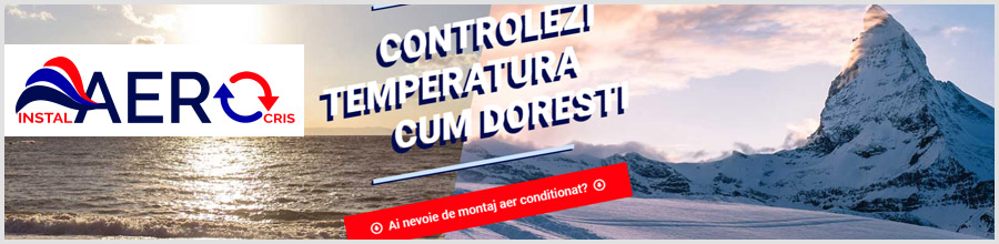 INSTAL AEROCRIS montaj, service, intretinere, igienizari aer conditionat, Bucuresti, Ilfov, Giurgiu Logo