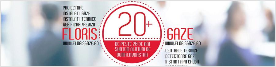 Floris Gaze - instalatii gaze Ploiesti Logo