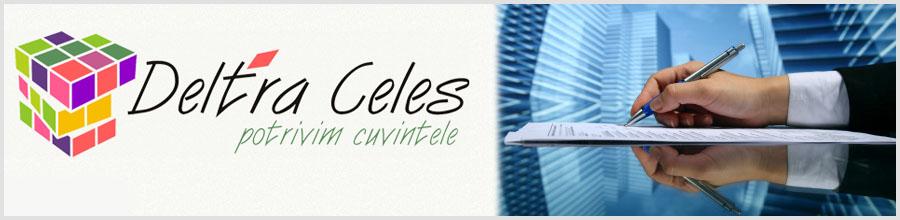 BIROU TRADUCERI DELTRA CELES Logo