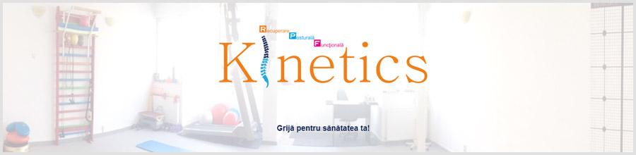 Rpf Kinetics, cabinet recuperare medicala Craiova Logo