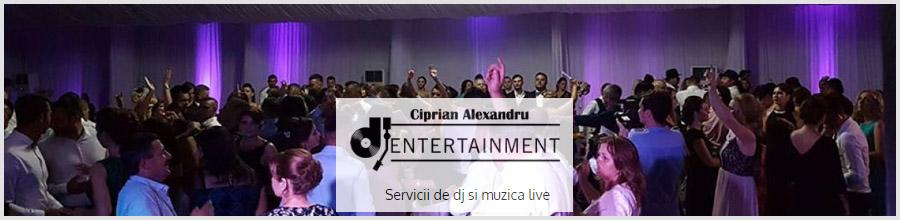 Dj Ciprian Alexandru - Servicii de dj si muzica live Bucuresti Logo