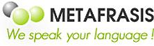 BIROU TRADUCERI METAFRASIS Servicii profesionale de traduceri autorizate, legalizate, tehnice, urgente Bucuresti Logo