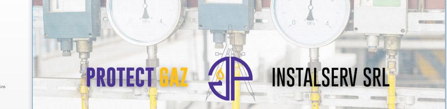 PROTECT GAZ INSTALSERV Proiectare, executie instalatii gaze Bucuresti, Ilfov Logo