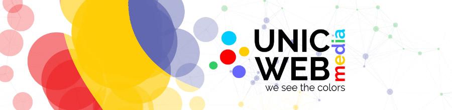 UnicWeb Media agentie SEO Bucuresti Logo